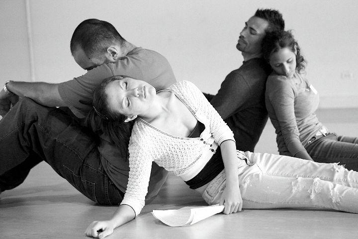 Image: Shadow Theater rehearsal at MTC www.ImagesbyJDA.com