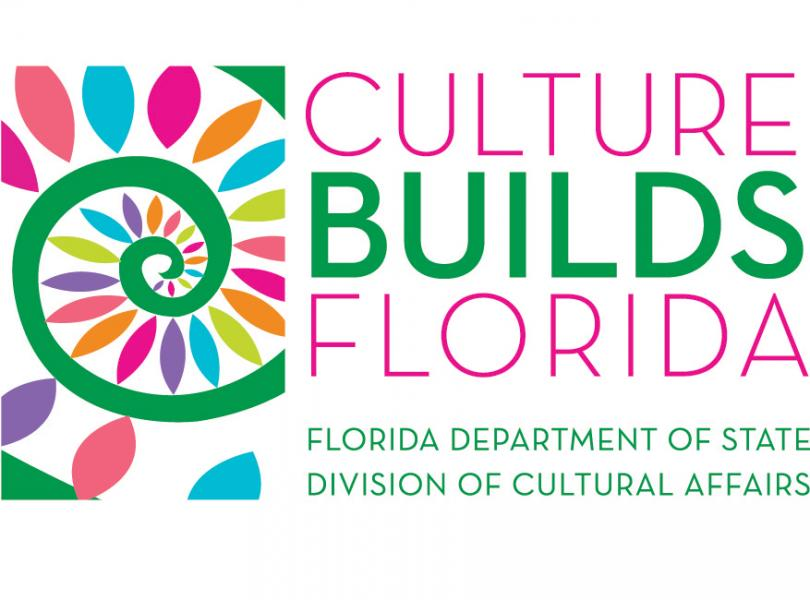 Image:  Culture Builds Florida Logo