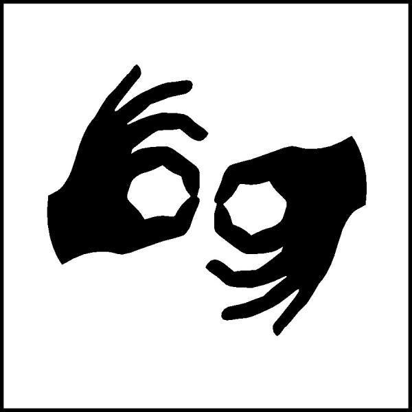 Image: ASL Access Symbol