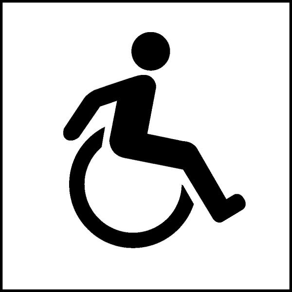 Image: Wheelchair Access Symbol